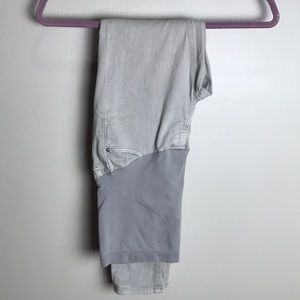 AG grey maternity jeans 25R
